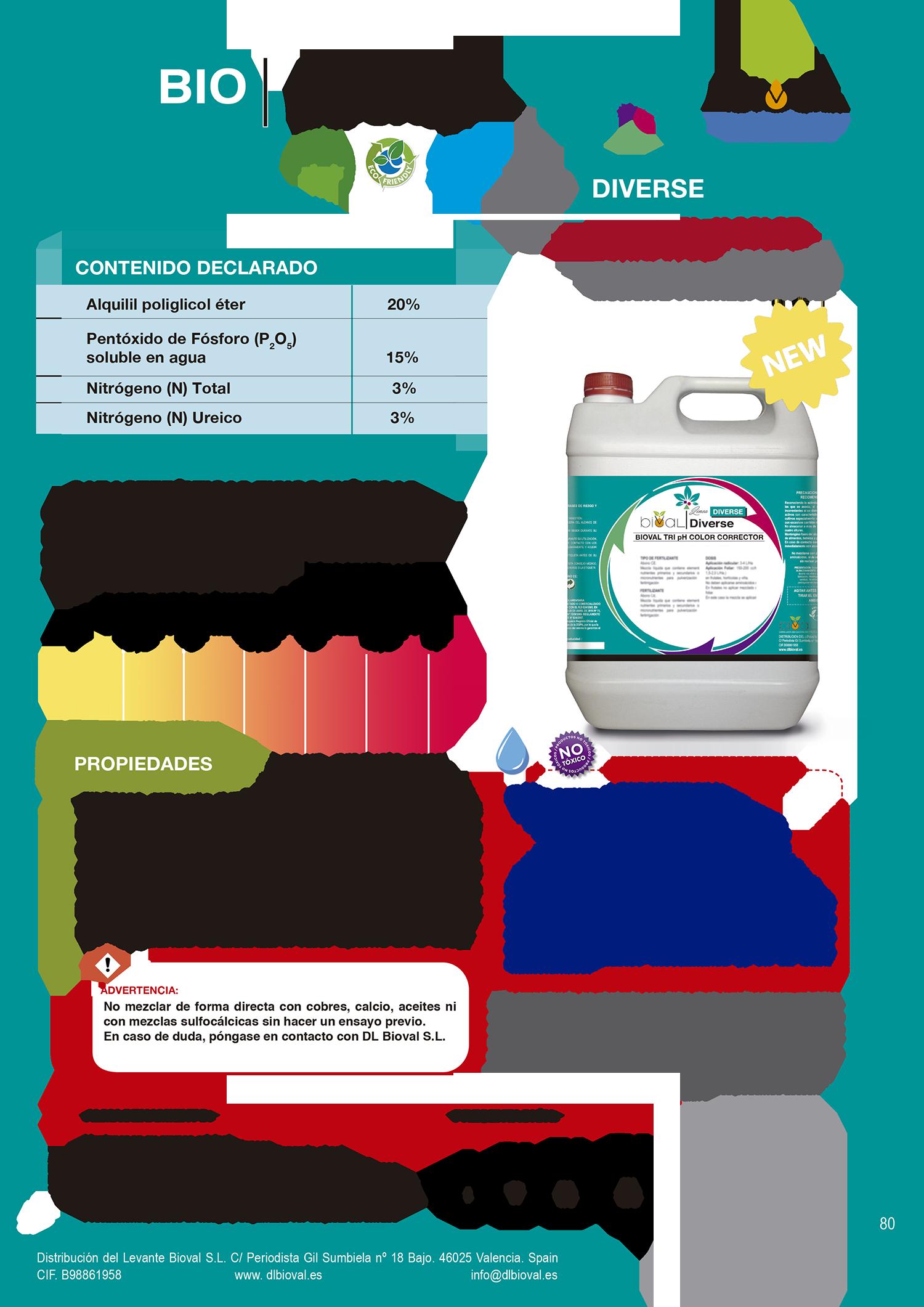 Bioval Tri Ph Color Corrector - Línea Diverse