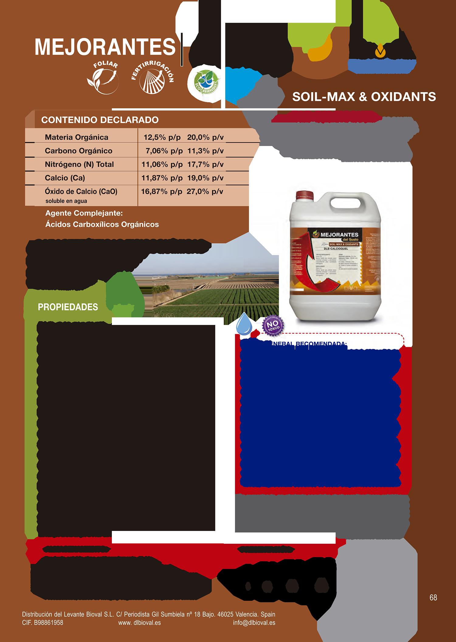 DLB Calcioquel 1 - Línea Soil-Max & Oxidants
